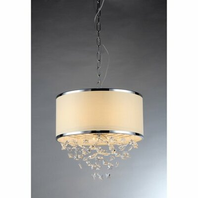 Tab 3-Light Drum Chandelier