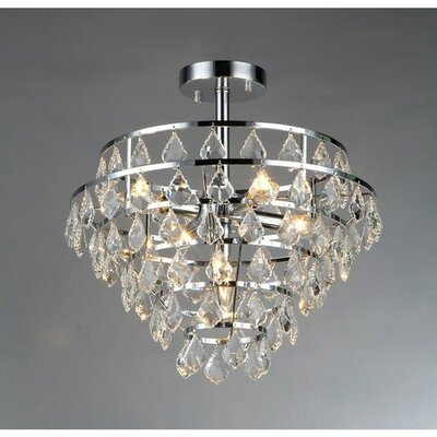 Victory 1-Light Semi Flush Mount