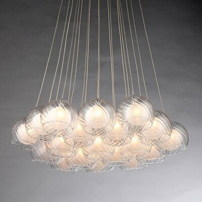 Terrence 19-Light Cluster Pendant