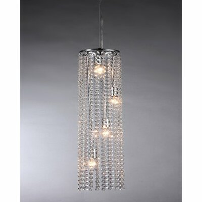 Conrad 4-Light Crystal Chandelier