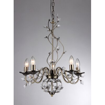 Charlotte 5-Light Crystal Chandelier
