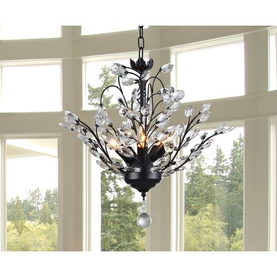 Aria 5-Light Crystal Chandelier