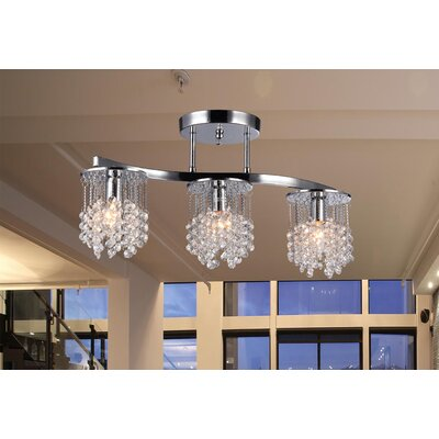 Carson 3-Light Kitchen Island Pendant