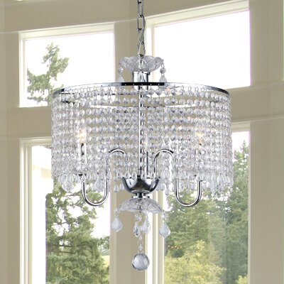 Karole 3-Light Drum Chandelier