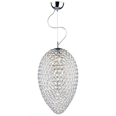 Orai 5-Light Crystal Chandelier