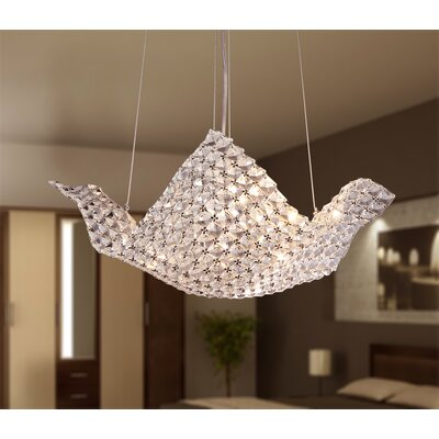 Rapunzel 6-Light Crystal Chandelier
