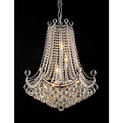 Paula 3-Light Crystal Chandelier