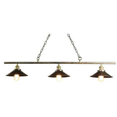Olive 3-Light Pool Table Light