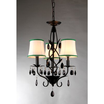 Keira 3-Light Shaded Chandelier