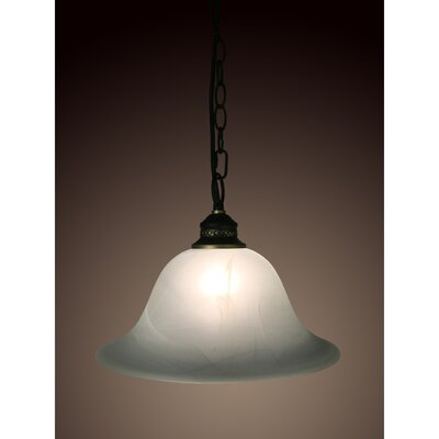 Bathsheba 1-Light Inverted Pendant