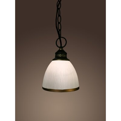 Sherah 1-Light Bowl Pendant
