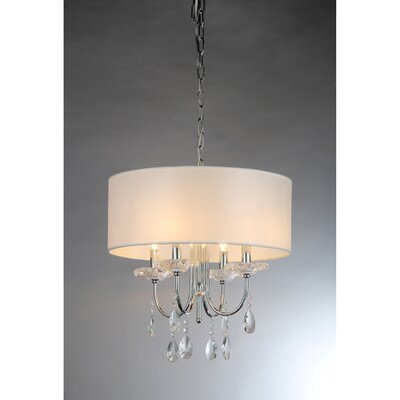 Alexandria 4-Light Drum Chandelier