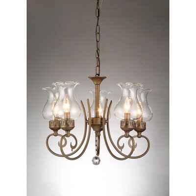 Bailona 5-Light Candle-Style Chandelier