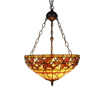 Aiza 2-Light Bowl Pendant
