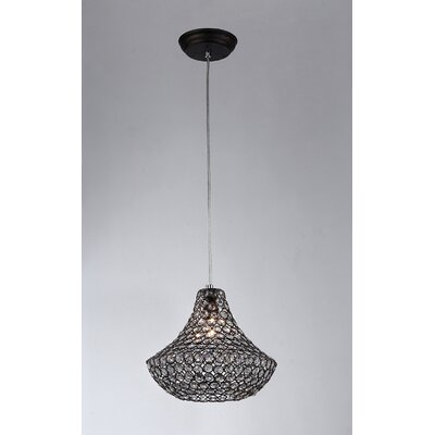 Hannah 1-Light Foyer Pendant