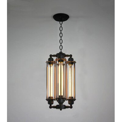 Edison 4-Light Foyer Pendant