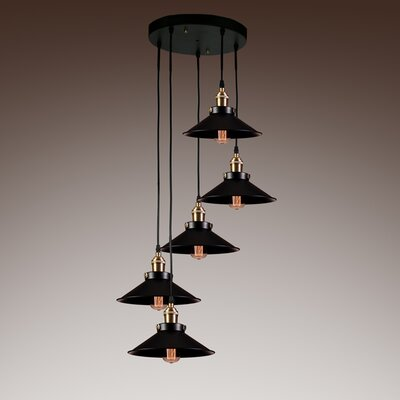Sonia 5-Light Cascade Pendant
