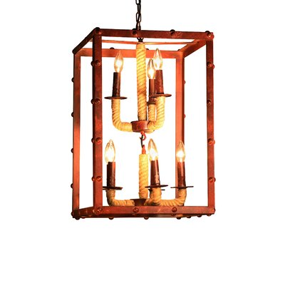 Rivka 8-Light Foyer Pendant
