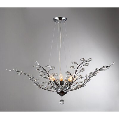 Arianna 8-Light Inverted Pendant