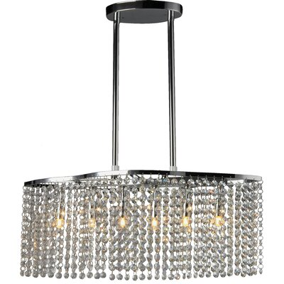 Asteria 6-Light Kitchen Island Pendant