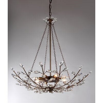 Addie 8-Light Crystal Chandelier