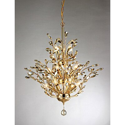 Gisell 13-Light Crystal Chandelier