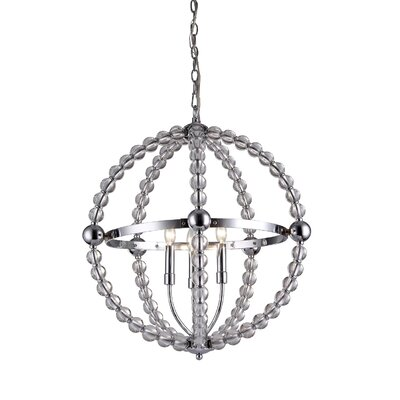Melanie 3-light Globe Pendant