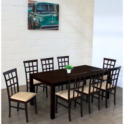 Justin 9 Piece Dining Set