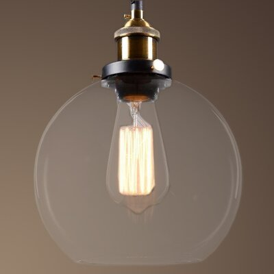 Maisie 1-Light Globe Pendant