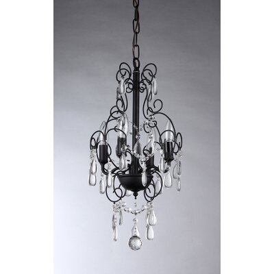 Eros 4-Light Crystal Chandelier