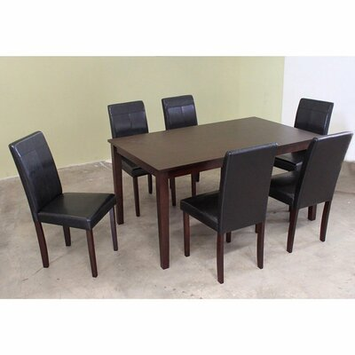 Wooden 7 Piece Dining Set