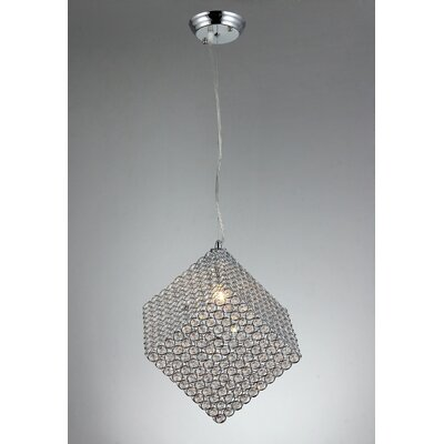 1-Light Crystal Pendant