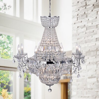 Zafirah 20-Light Crystal Chandelier