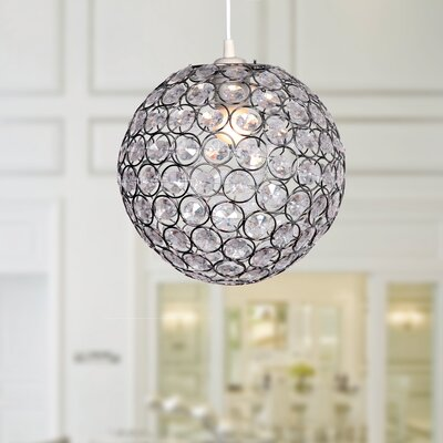 Eduarda 1-Light Globe Pendant