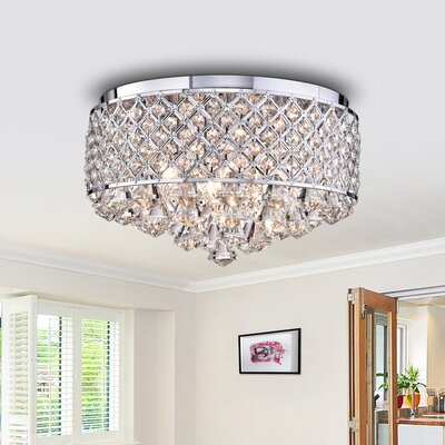 4-Light Flush Mount