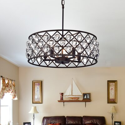 5-Light Drum Chandelier