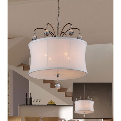 Felicity 4-Light Drum Chandelier