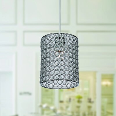 Earldena 1-Light Drum Pendant