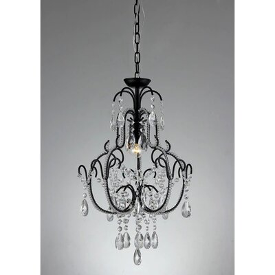 Genevieve 1-Light Crystal Pendant