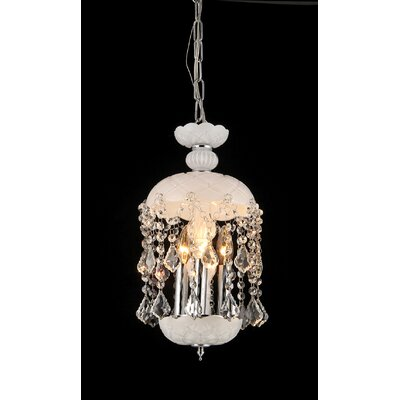 Kiara 3-Light Crystal Chandelier