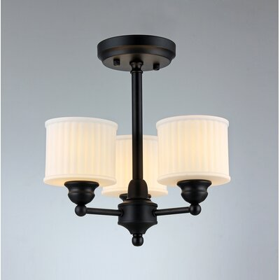 Gabbi 3-Light Semi Flush Mount