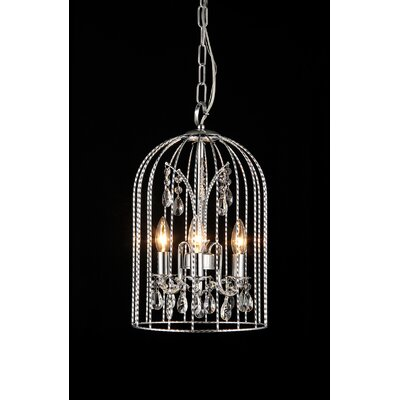 Arielle 3-Light Foyer Pendant
