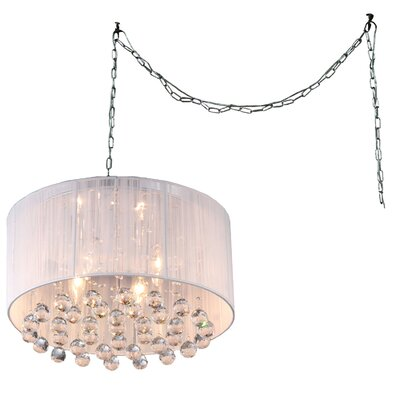 Mineya 5-Light Crystal Chandelier