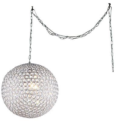Jessie 3-Light Globe Pendant