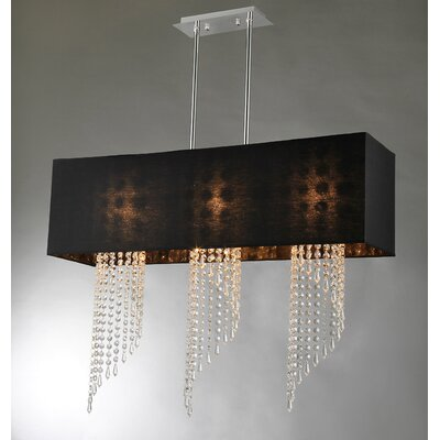 Tasha 3-Light Crystal Chandelier