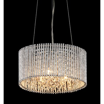 Abigail 3-Light Crystal Chandelier