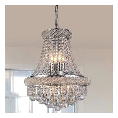 Gumamela 8-Light Empire Chandelier