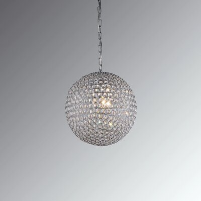 Gertrude 3-Light Globe Pendant