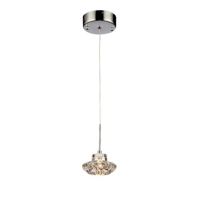 Magnolia 1-Light Crystal Pendant