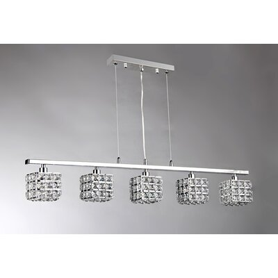 Sandra 5-Light Kitchen Island Pendant